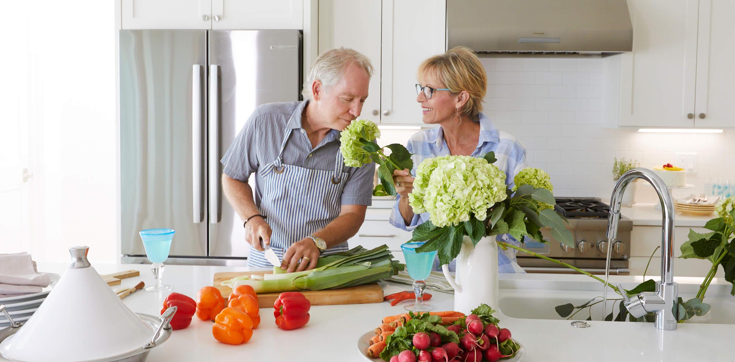 Grandparents Cooking